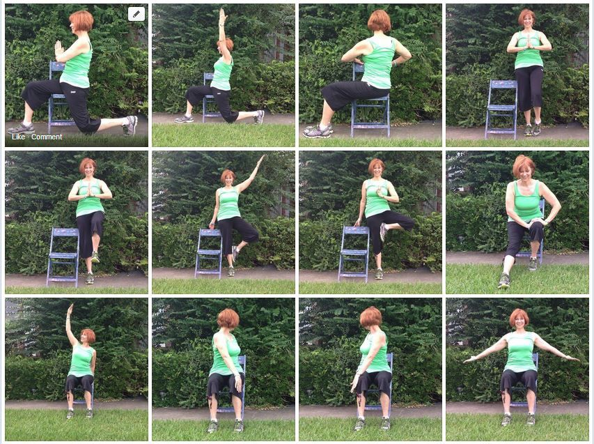 Chair Yoga by Gail PickensBarger, Yoga with Gaileee, Get