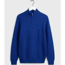 Photo of Gant Signature Weave Sweater (Blau) Gant