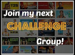 I love when my challengers send me messages with their results! If you would like to join, please don't hesitate to message me =)