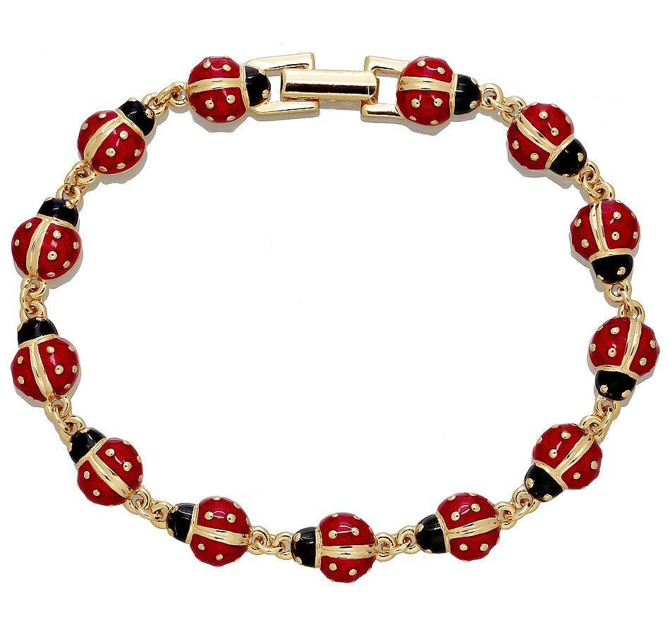 Buy ladybug line bracelet joan rivers and bracelets from