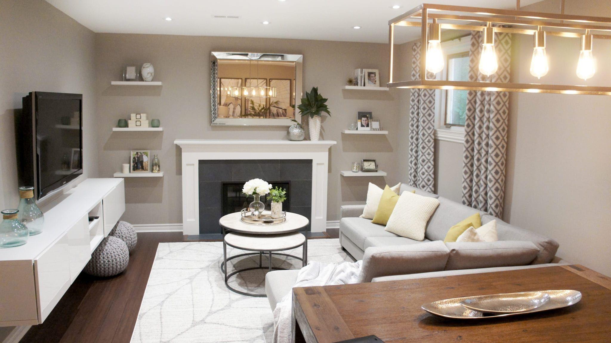 Etobicoke Residence | Blue living room, Toronto interior design ...