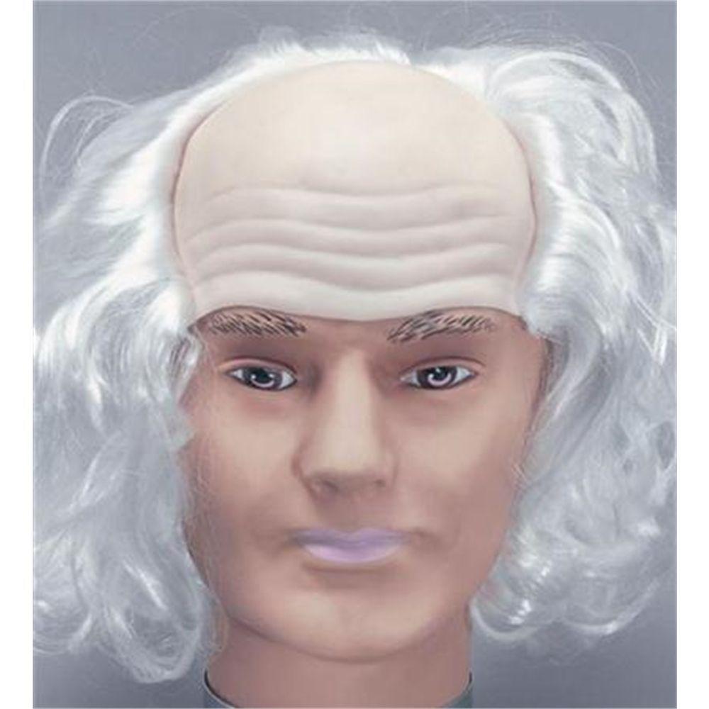 Old Man Mask /& White Wig