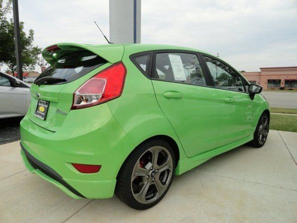 New 2014 Ford Fiesta St Hatchback Green Hatchback Near Bourbonnais Il Ford Fiesta St Ford Fiesta Ford