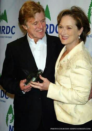 Redford and streep marriage