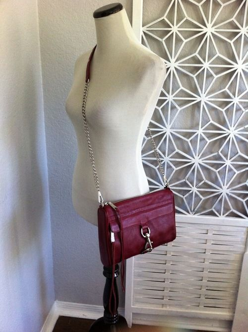 a927aba632c Rebecca Minkoff (Full Size) MAC (Wine) NWT -   273.00  threadflip ...