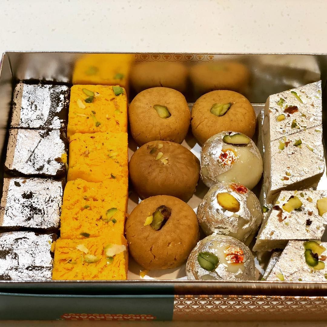Color Me Libra On Instagram Sweets Sweets And Sweets Great Combination Of Tea Or Coffee Burfi Kajukatli Kho Food Garnishes Punjabi Food Indian Sweets