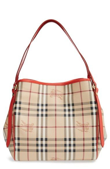 a78eeaf9a60 Burberry  Haymarket Check - Small Canterbury  Tote available at  Nordstrom