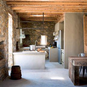 Un ancien abattoir transformé en maison sur lîle de Sérifos