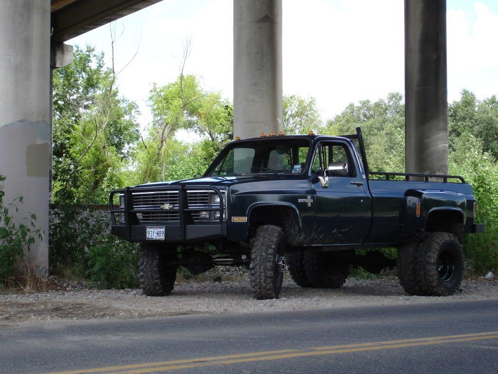 1984 k30 dually south texas feelin it out ck5 classic blazer forums