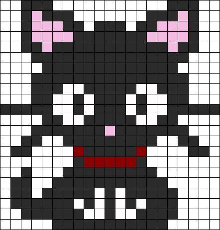 Easy Pixel Art Cat   Google Search
