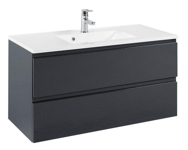 Waschtisch Cardiff Breite 100 Cm 2 Tlg Badezimmer Schrank