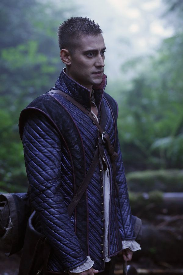 """Once Upon A Time In Wonderland episode 3 """"Forget Me Not"""" - In the Enchanted Forest,The Knave Of Hearts was known as Will Scarlet"""