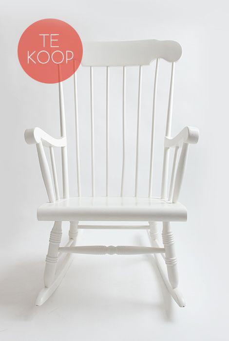 schommelstoel-wit-te-koop-kapaza-04 | home | pinterest | white, Deco ideeën