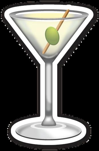 Cocktail Glass Emoji Pictures Glass Emoji Stickers