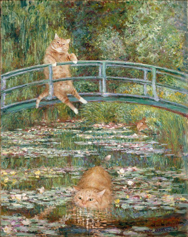 Svetlana Petrova & Zarathustra the Cat