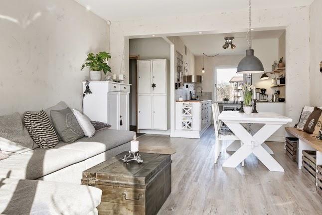 Piso con mezcla de estilos decorativos decoraci n - Mi casa practica ...
