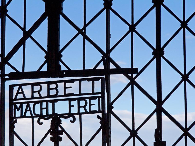 """For prisoners entering the concentration camp Dachau, an iron gate with the phrase Arbeit macht frei (""""work sets you free"""") seemed to suggest there was a way out. The truth was anything but, and the number of people who perished there during the Nazi regime will never be known. Now, Christoph Noelting reports for the Associated Press, the gate is back at the camp after being stolen."""