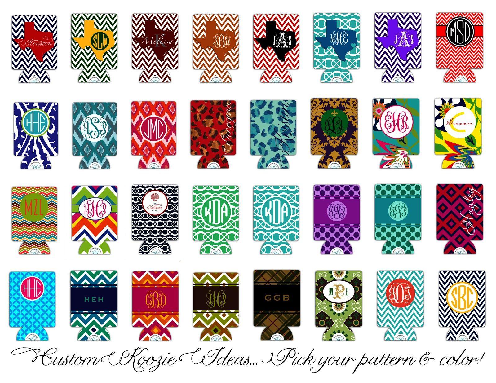 Wedding Koozie Design Ideas - Custom Printed #wedding #koozies are ...
