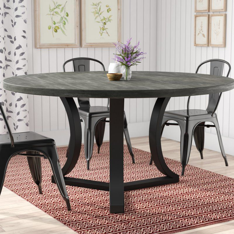 Louisa Dining Table Dining Table In Kitchen Modern Round Wood