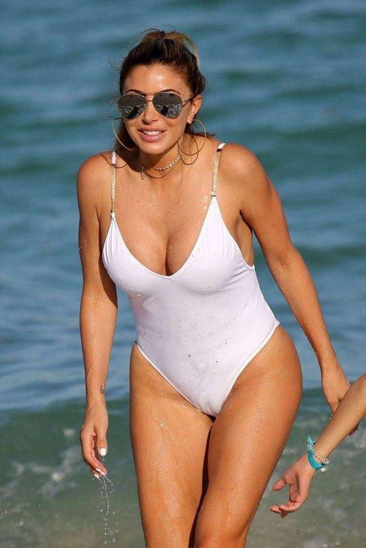 White Bikini Camel Toe