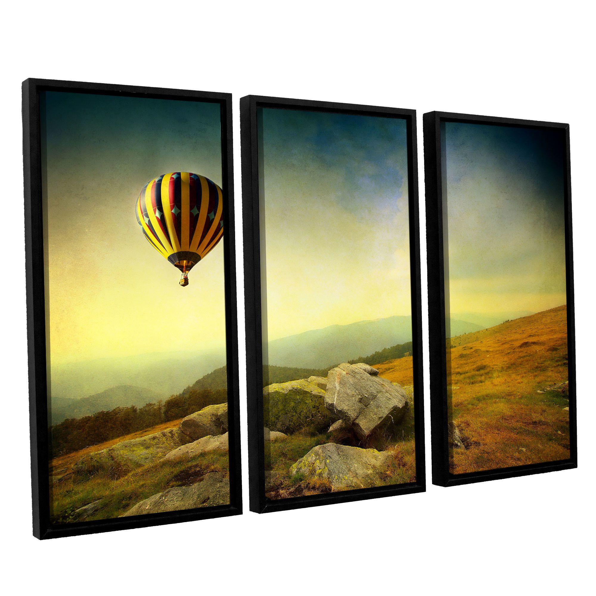 Keys to Imagination III\' by Dragos Dumitrascu 3 Piece Framed ...