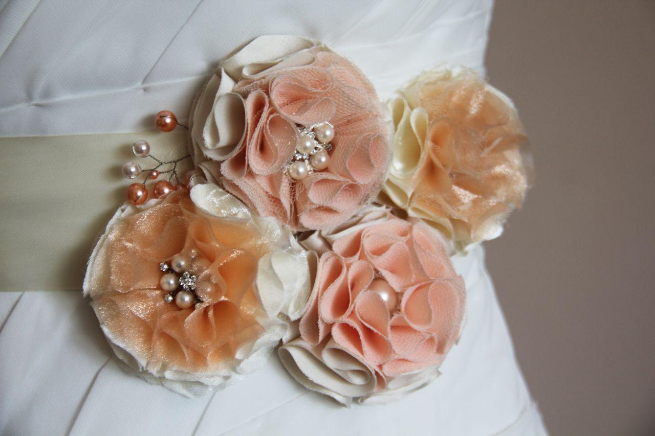 Diy bridal bouquet fabric flowers viogemini 25 ribbon flower diy bridal bouquet fabric flowers viogemini 25 izmirmasajfo