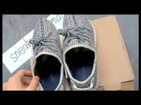 12d9af1e7c2b9 Adidas Yeezy Boost 350 Turtle Dove - Unboxing and Review-sneakerjmpman