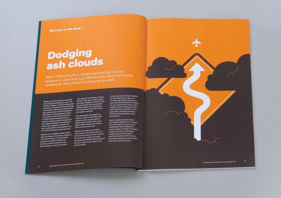 Best Awards - Designworks. / MetService 2011 Annual Report