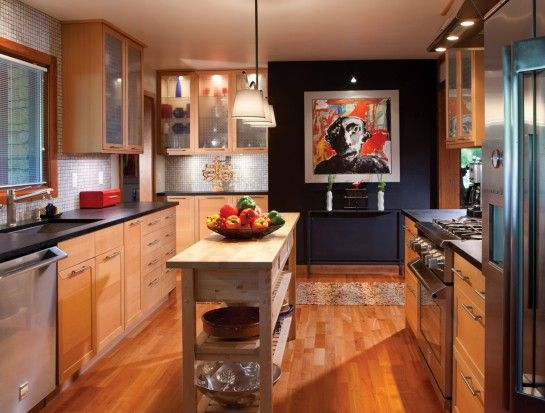 Natural Red Oak Floor Maple Cabinet Google Search Beech Kitchen Cabinets Beech Kitchen Wood Kitchen Cabinets
