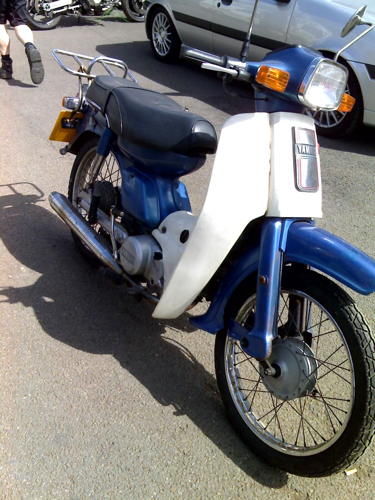 1985 Yamaha T80 Townmate Classic Motorcycles Yamaha