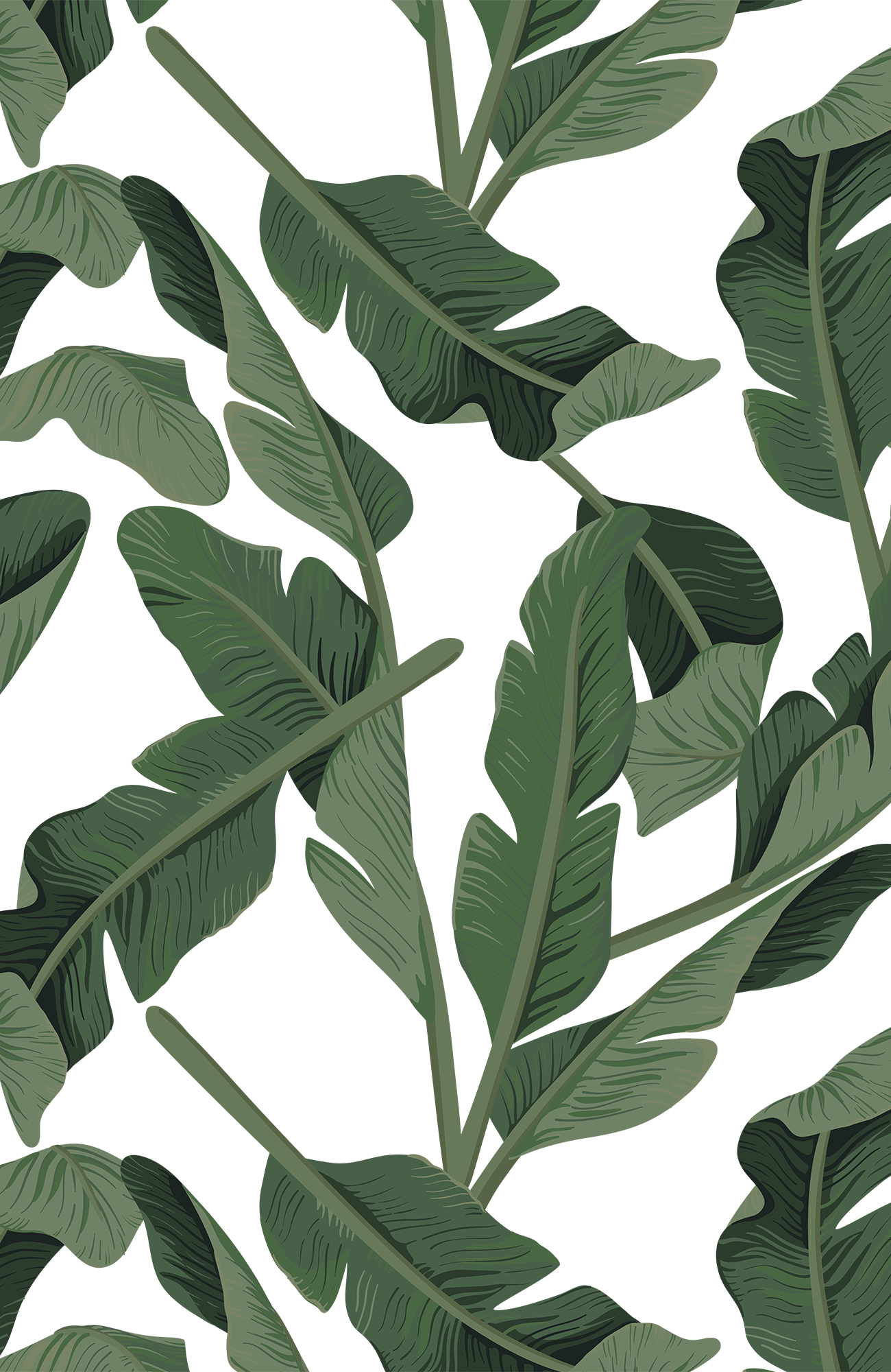 Banana Leaves. Casetify iPhone Art Design Tropical