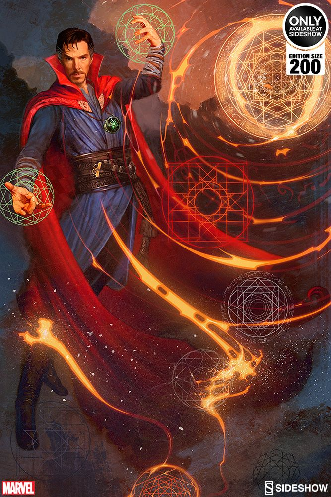 Marvel Doctor Strange Premium Art Print by Sideshow Collecti | Sideshow Collectibles