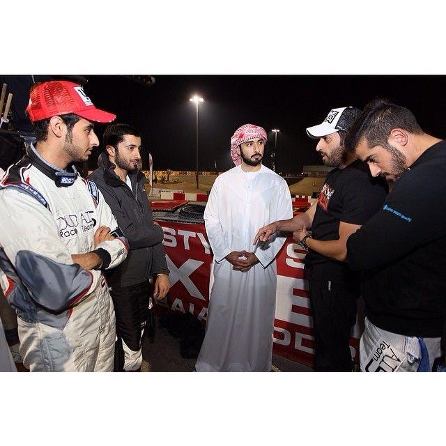 2/22/14 With Dubai 5 Team...go karts...asmbinthalith
