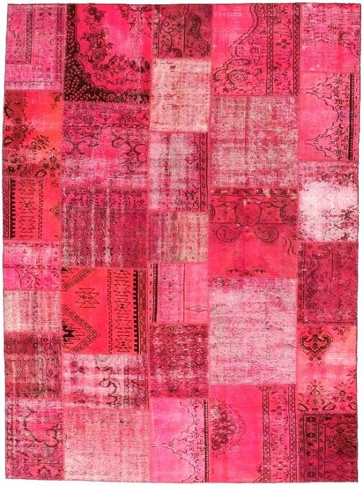 Carpet Reloaded Deliciosos colores en tonos fucsia ในปี