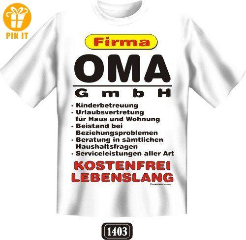 Opa Firma Papa GmbH Lustiges Geschenk Vatertag T-Shirt für den Vater