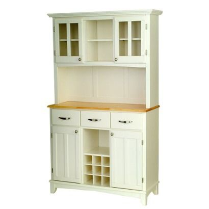 White Kitchen Hutch Target http://www.target/p/buffet-with-2-door-hutch-white-natural/-/a