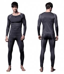 Essentials Thermal Long Underwear Set Uomo