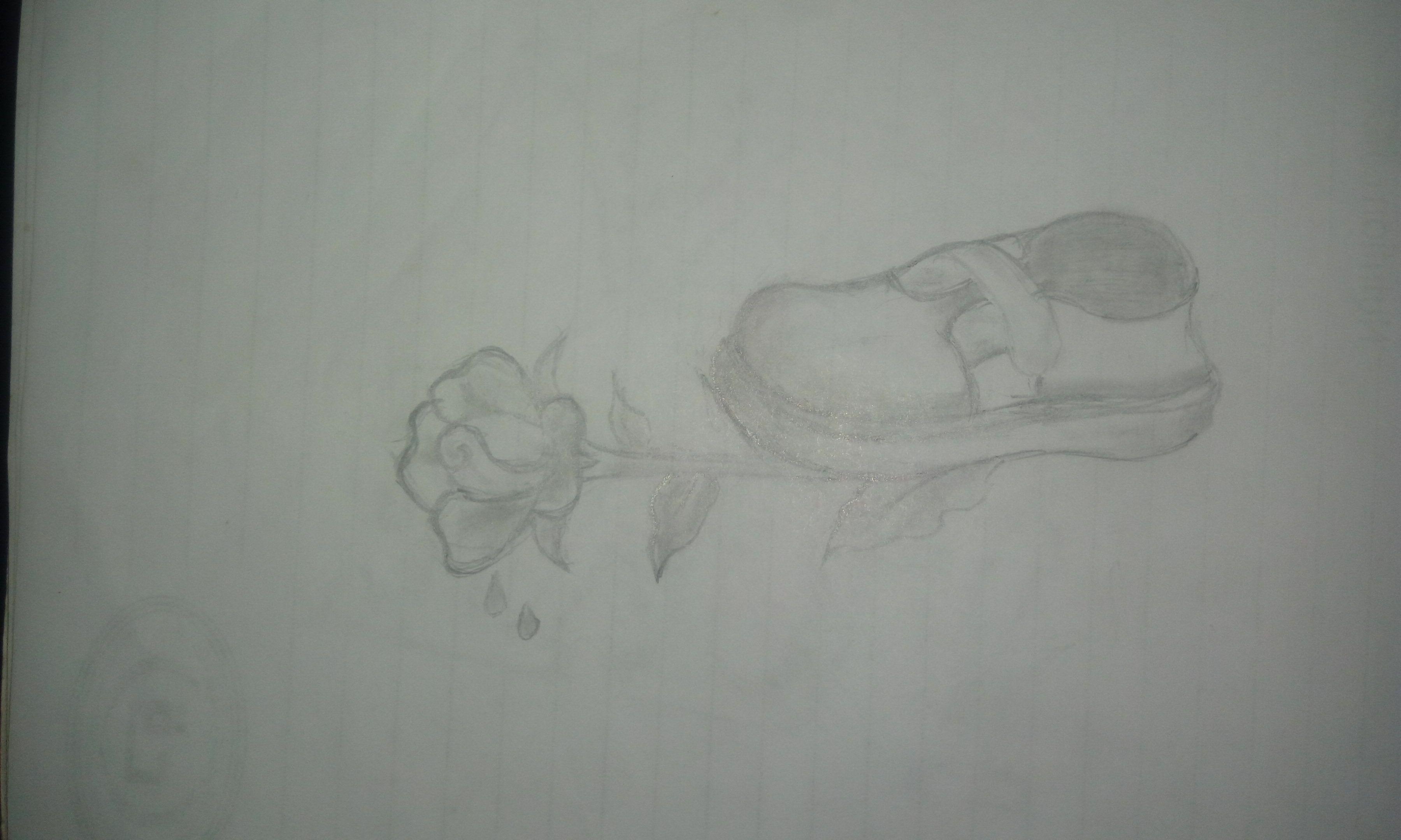 الحب وهم رسم بالرصاص Humanoid Sketch Art
