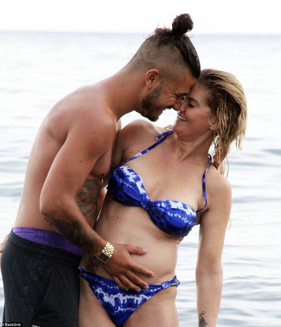 Pregnant Danniella Westbrook Hits Beach In Bikini Photos