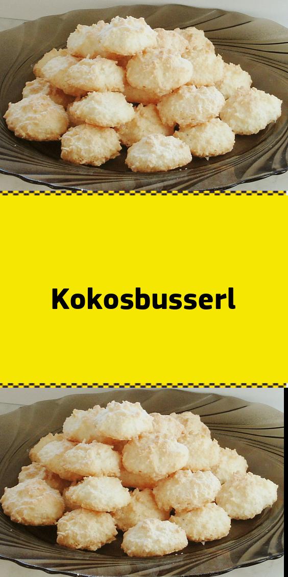 Kokosbusserl #kokosmakronenrezept