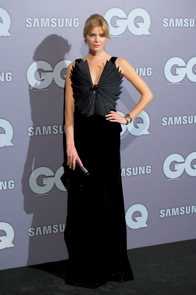 Fabulously Spotted: Cristina Tosio Wearing Giorgio Armani - GQ España Men Of The Year Award 2013  - http://www.becauseiamfabulous.com/2013/11/cristina-tosio-wearing-giorgio-armani-gq-espana-men-of-the-year-award-2013/