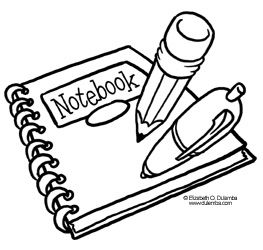 coloring page tuesday back to school supplies