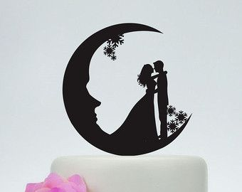 Image result for wedding cake topper sun and moon live by sun love ...
