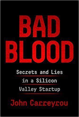 pdf download bad blood secrets and lies in a silicon valley
