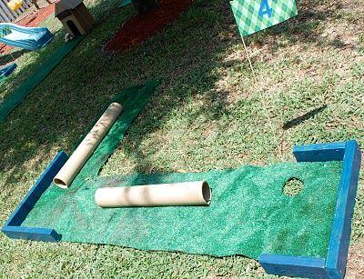 Diy Mini Golf Kids Carnival Games Kids Carnival Carnival