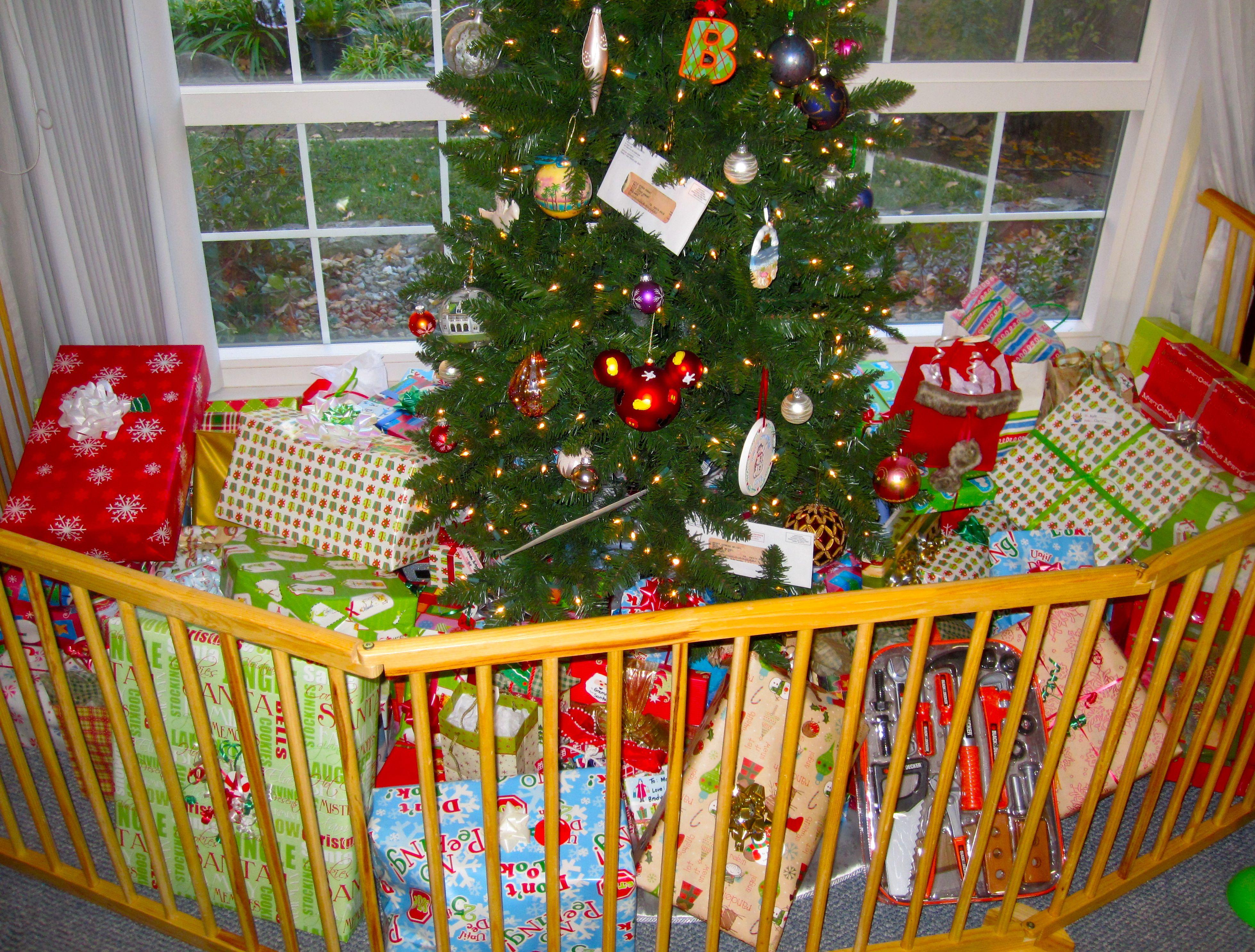Gate To Go Around Christmas Tree