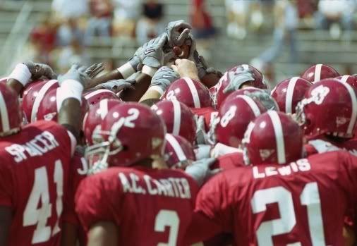 Alabama Football Team Crimson Tide Alabama Football Team