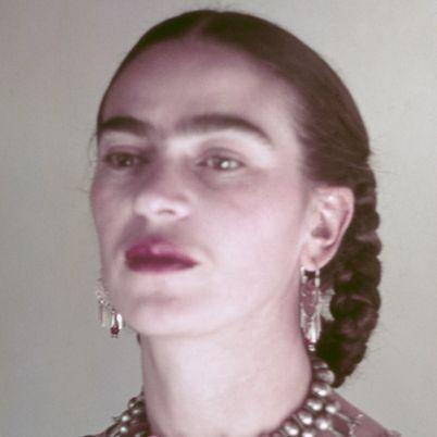 Frida Kahlo (Magdalena Carmen Frieda Kahlo y Calderon).  190 - 1954 (aged 47).  Mexican painter.  Surrealism, Magic Realism.