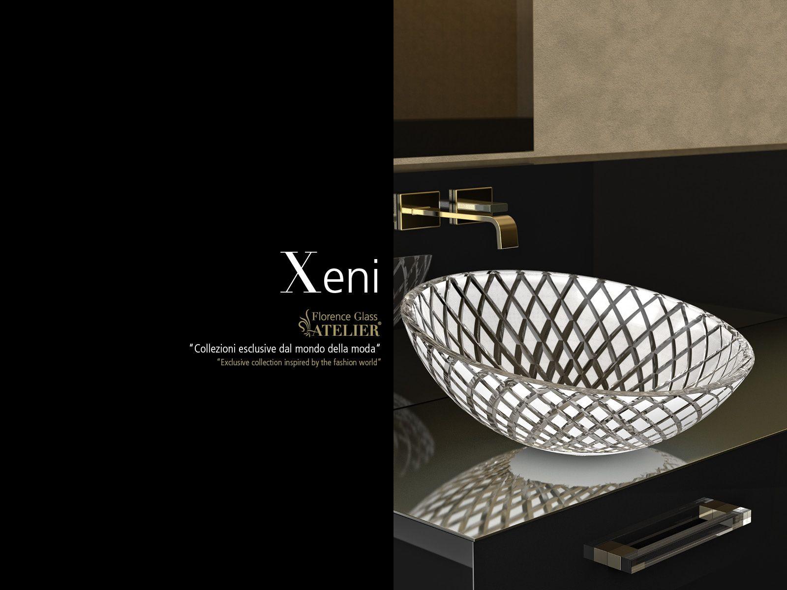 Glass design xeni lavabo de vidrio atelier lavabos de for Lavabos de cristal