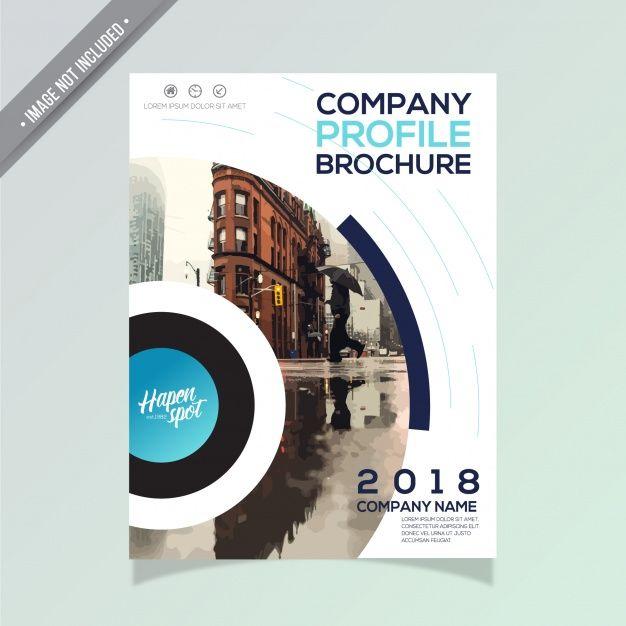 Download Modern Business Brochure Design For Free Desain Brosur